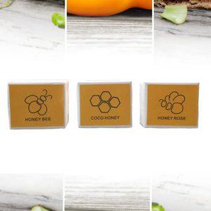 プリムのハチミツ石けん3種が群馬県みどり市の特産品に認定されました
