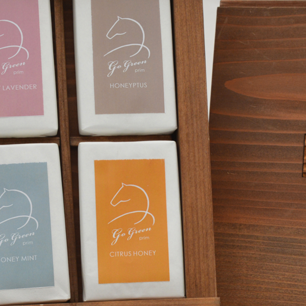 プリムのGoGreenはちみつ石けんシリーズ6種